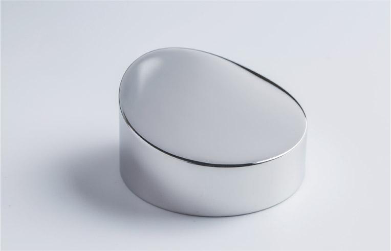 コバルトクロム合金製部品の自由曲面鏡面研磨