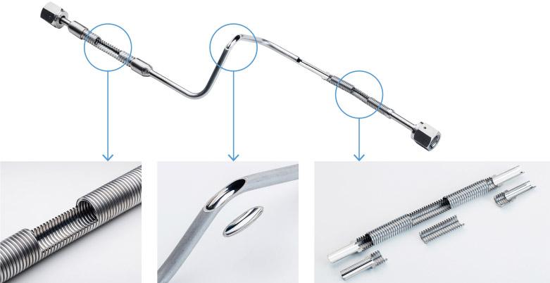 不連続曲面に対しても鏡面仕上加工が可能